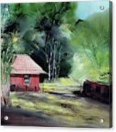 Red House R Acrylic Print