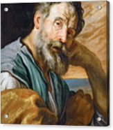 Saint Peter Repenting  Acrylic Print