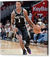 San Antonio Spurs V Cleveland Cavaliers Acrylic Print