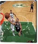 San Antonio Spurs V Milwaukee Bucks Acrylic Print