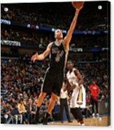 San Antonio Spurs V New Orleans Pelicans Acrylic Print