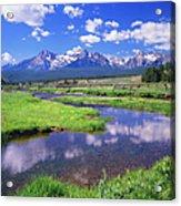 Sawtooth Mountain Range, Idaho Acrylic Print