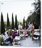 Scio Family Villa Acrylic Print