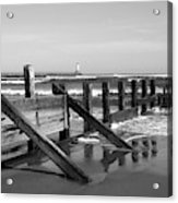 Sea Barrier Acrylic Print