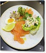 Seafood Platter Acrylic Print