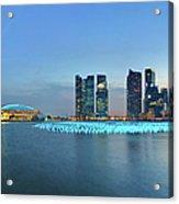 Singapore Marina Bay Acrylic Print