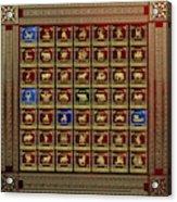 Standards Of Roman Imperial Legions - Legionum Romani Imperii Insignia Acrylic Print