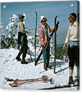Sugarbush Skiing Acrylic Print