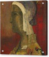 Symbolic Head, 1890 Acrylic Print