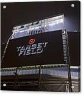 Target Field Previews Acrylic Print