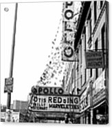 The Apollo Theater In Harlem. Otis Acrylic Print