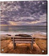The Bench 2019 Edit Acrylic Print