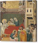 The Birth, Naming, And Circumcision Of Saint John The Baptist Acrylic Print