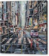 The City Rhythm Acrylic Print