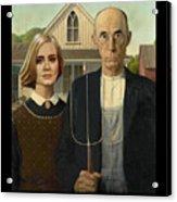 The Farmer And Adele Acrylic Print