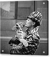 Tiger Lady Acrylic Print