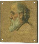 Title Sketch Of Alphonse Legros Acrylic Print