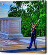 Tomb Of The Unknown Soldier Painting Acrylic Print