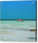 Tropical Days Bucket List Acrylic Print
