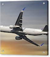 United Airlines Boeing 767-322 Acrylic Print