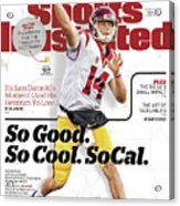 University Of Southern California Sam Darnold, 2017 College Sports Illustrated Cover Acrylic Print