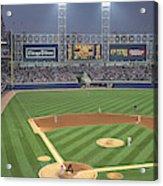 Usa, Illinois, Chicago, White Sox Acrylic Print
