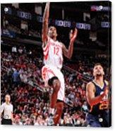 Utah Jazz V Houston Rockets Acrylic Print