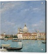 Venice, Santa Maria Della Salute From San Giorgio - Digital Remastered Edition Acrylic Print