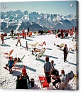 Verbier Vacation Acrylic Print