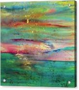 Vintage Sunset Acrylic Print