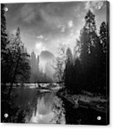 View Of Half Dome II Acrylic Print