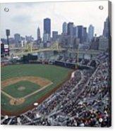 View Of Stadium Acrylic Print