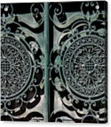 Villa Gate Acrylic Print
