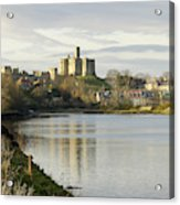 Warkworth Castle And River Aln Acrylic Print