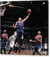 Washington Wizards V Brooklyn Nets Acrylic Print