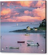Willard Beach Sunset Acrylic Print
