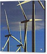 Wind Power Art  Acrylic Print