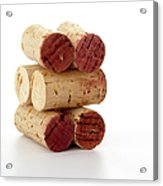 Wine Corks Serie Of 28 Images Acrylic Print