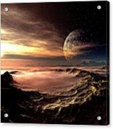 Alien Planet, Artwork Acrylic Print