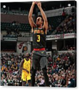 Atlanta Hawks V Indiana Pacers Acrylic Print