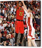 Atlanta Hawks V Miami Heat Acrylic Print