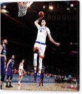 Charlotte Hornets V New York Knicks Acrylic Print