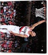 Denver Nuggets V Portland Trail Blazers Acrylic Print