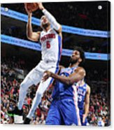 Detroit Pistons V Philadelphia 76ers Acrylic Print