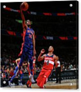 Detroit Pistons V Washington Wizards Acrylic Print