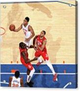 Houston Rockets V New York Knicks Acrylic Print