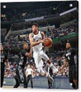 Minnesota Timberwolves V Memphis Acrylic Print