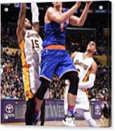 New York Knicks V Los Angeles Lakers Acrylic Print