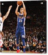 Philadelphia 76ers V Toronto Raptors Acrylic Print
