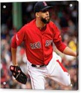 Tampa Bay Rays V Boston Red Sox 10 Acrylic Print